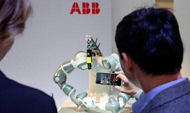 Швейцарско-шведская АВВ инвестирует 150 млн долл. в строительство суперзавода роботов в Шанхае