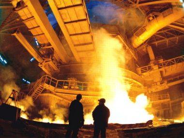 За октябрь в Китае произвели рекордное количество стали