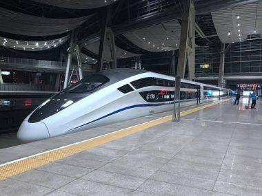CRRC Zhuzhou Locomotive продемонстрировала новые модели скоростных поездов