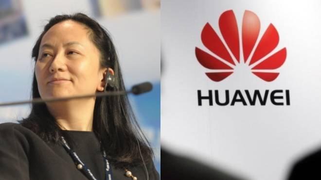 Финансовый директор Huawei отпущена под залог 7,5 млн долл.