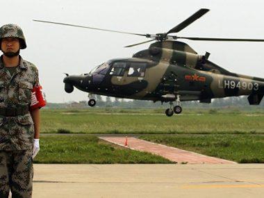 Китай обладает самым мощным военным вооружением