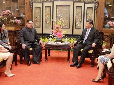 Ким Чен Ын четвертый раз приехал в Китай