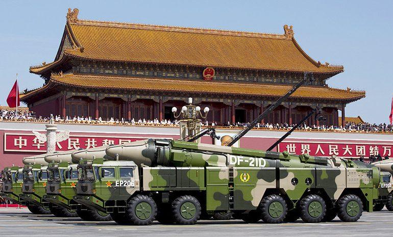 Военная модернизация Китая несет угрозу миру