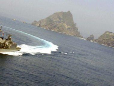 Китай вторгся в территориальные воды Японии
