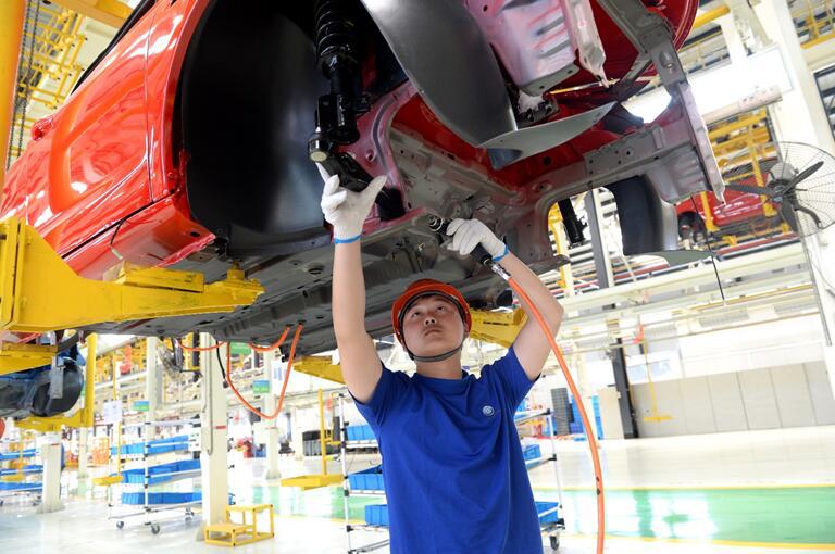 Китайская провинция вводит запрет на реализацию автомобилей на горючем топливе