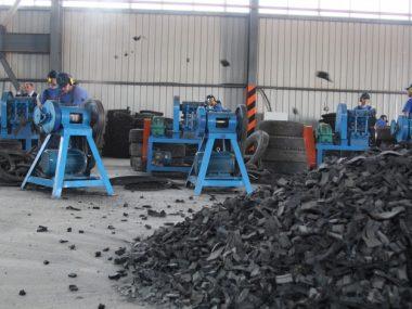 В Китае построили «умную фабрику» по утилизации использованных шин