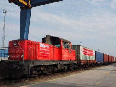 Контейнерный состав Китай-Венгрия прошел через Украину