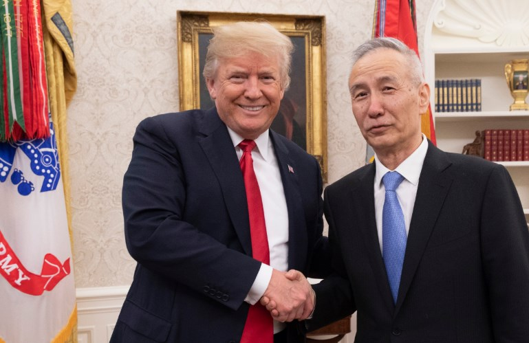 Обозначена встреча вице-премьера Китая и Трампа