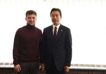 Зеленский встретился с послом Китая