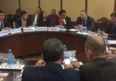 Украинские и китайские деловые круги обсудили сотрудничество на встрече в ТПП