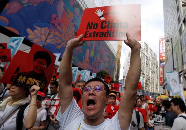 В Гонконге протестуют против экстрадиции местных жителей на материковый Китай