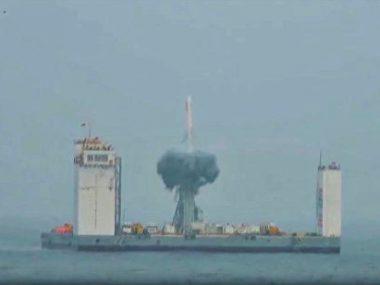 Китай впервые осуществил космический пуск с морской платформы