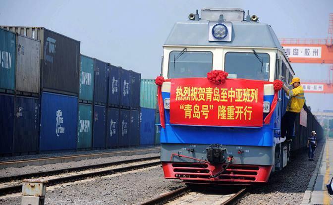 Украина, Грузия и Азербайджан разрабатывают железнодорожный маршрут из Китая в Европу