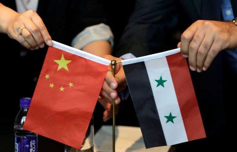 Китай хочет помочь в восстановлении Сирии