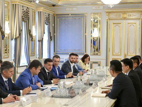 Украина и Китай составили список двусторонних  инвестиционных проектов на $10 млрд