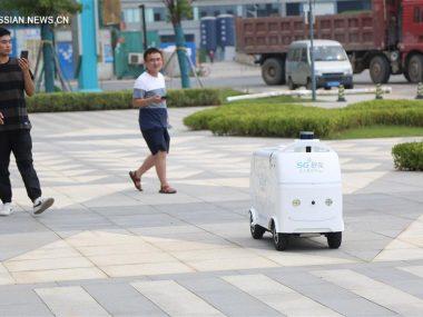 Китайская Suning начала использовать беспилотники для доставки