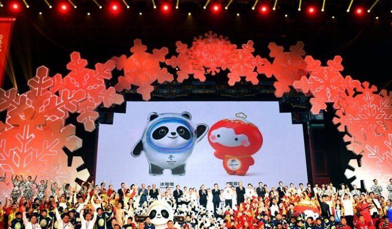 В Пекине представили символ Олимпиады-2022