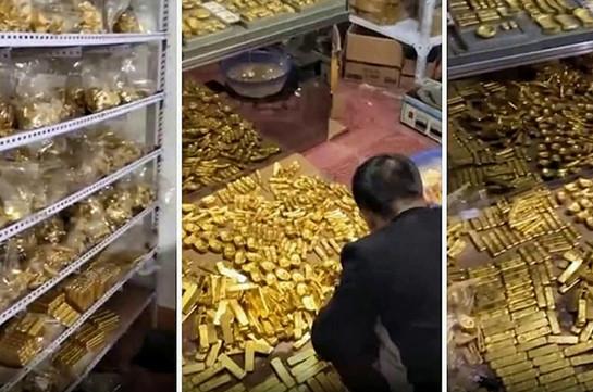 В доме китайского чиновника нашли более 13 т золота