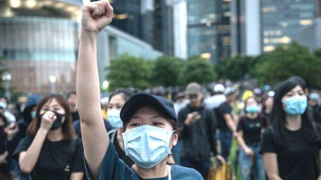 Китай примет контрмеры в ответ на законопроект США о протестующих в Гонконге