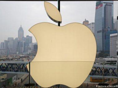 Китай обвинил Apple в поддержке демонстрантов