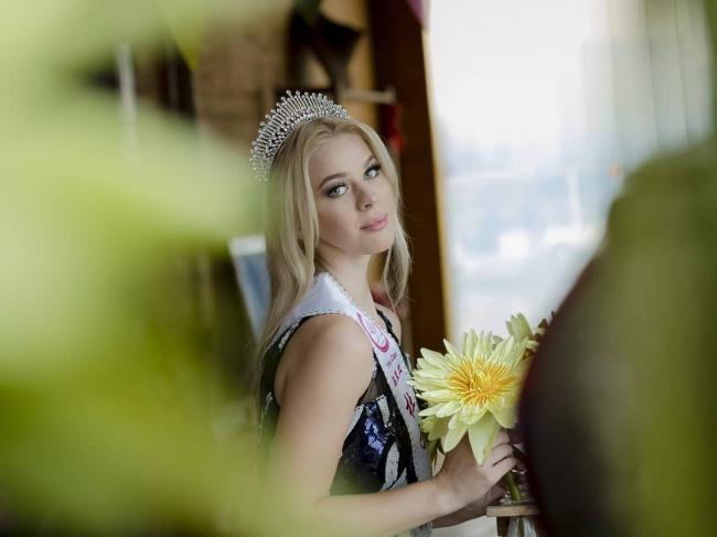 Красавица из Дубно представляет Украину в Китае