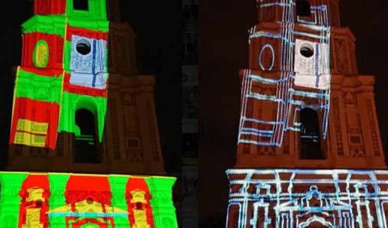 Про культуру Китая в украинской столице показали 3D-видеомэппинг