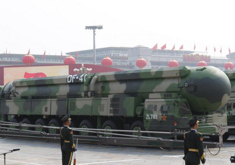 Китай представил ядерную ракету, способную ударить по любой точке Земли