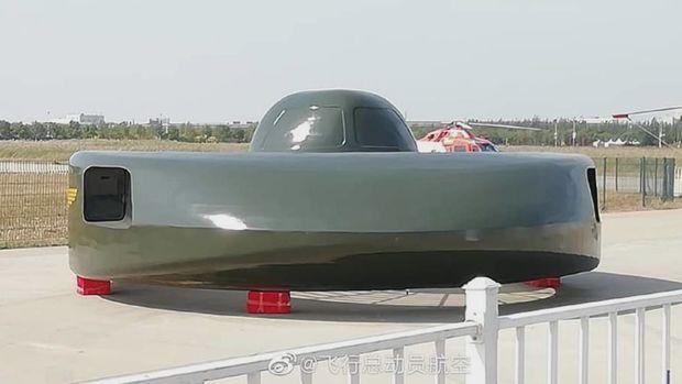 В Китае создали боевую летающую тарелку