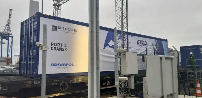 Порт Гданьска начал принимать контейнерные поезда из Китая