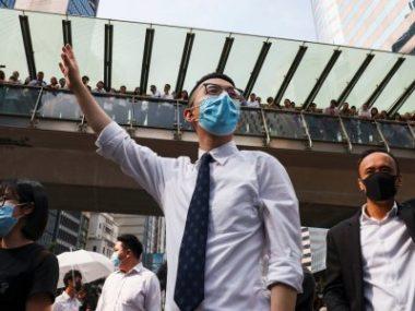 В Гонконге парализована работа общественного транспорта, закрыты университеты и школы