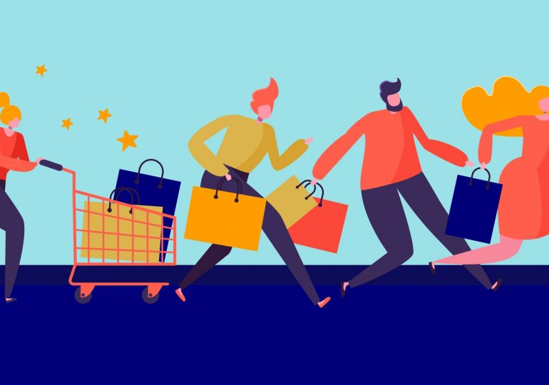 В Китае и Украине проходит Всемирный день шопинга