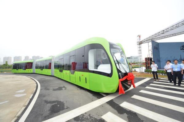 В Китае запустили беспилотный поезд по виртуальным путям