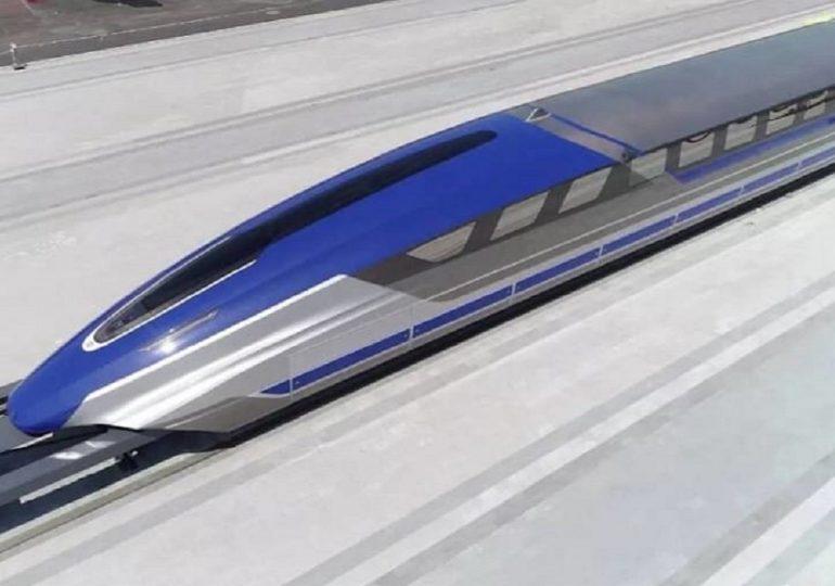 Китай презентовал самый быстрый поезд в мире