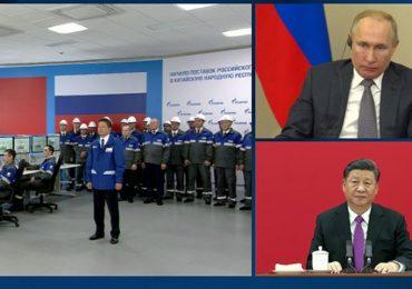 """Запуск """"Силы Сибири"""": как газопровод оценили власти РФ и Китая"""