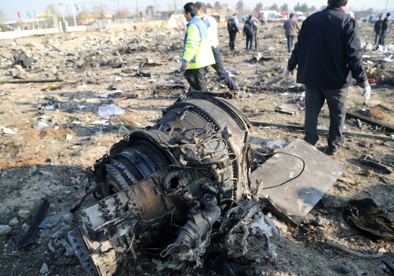 Китай выразил соболезнование в связи с крушением самолета в Иране