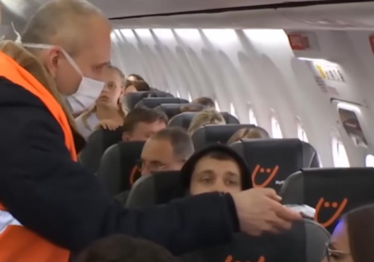 В Украину прибыл самолет с туристами из Китая