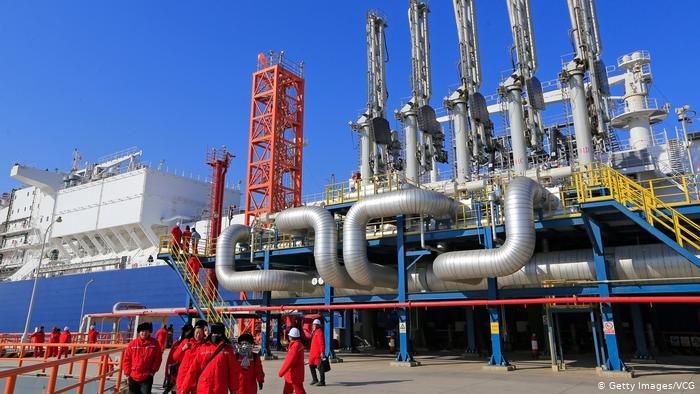 Китай будет наращивать закупки сжиженного газа в США