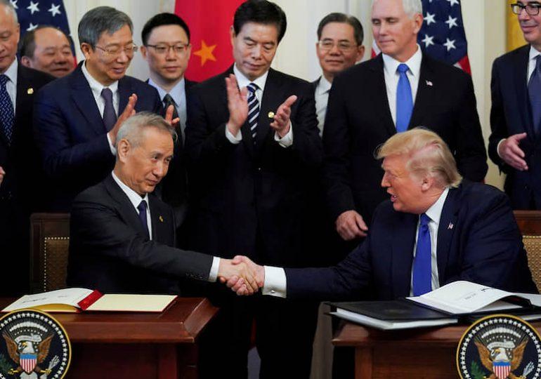 Договоренности по торговой сделке между Китаем и США вступают в силу