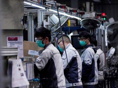 Китайские промышленные предприятия возобновили работу на 98,6%