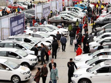 Китай запустит программы стимулирования продаж автомобилей