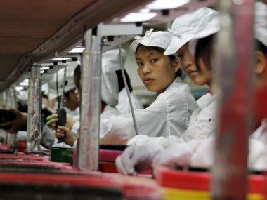В Китае рухнул индекс деловой активности