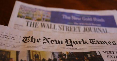 Издатели Wall Street Journal, New York Times, Washington Post просят китайское правительство отменить запрет на работу их журналистов в Китае