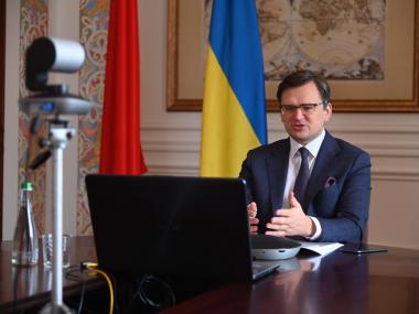 Главы МИД Украины и Китая проведут онлайн-переговоры 1 апреля