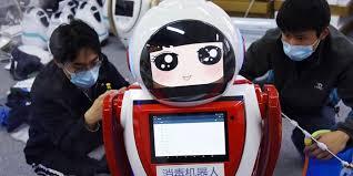 В Китае разработали медицинского робота, который поможет в борьбе с коронавирусом