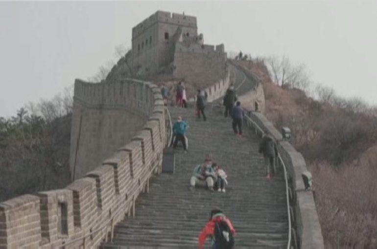 В Китае открыли часть Великой стены для туристов