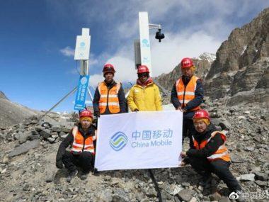 Huawei совместно с China Telecom успешно завершили монтаж станции 5G на Эвересте