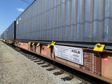 Из Китая в Австрию был запущен новый контейнерный поезд