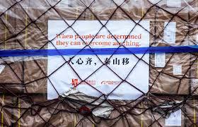 Китайские фонды Alibaba и Джека Ма передали медицинские маски России