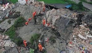 Разрушительное землетрясение произошло на северо-западе Китая