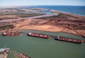 Перевалка желруды на Китай в Port Hedland в марте увеличилась на 22%